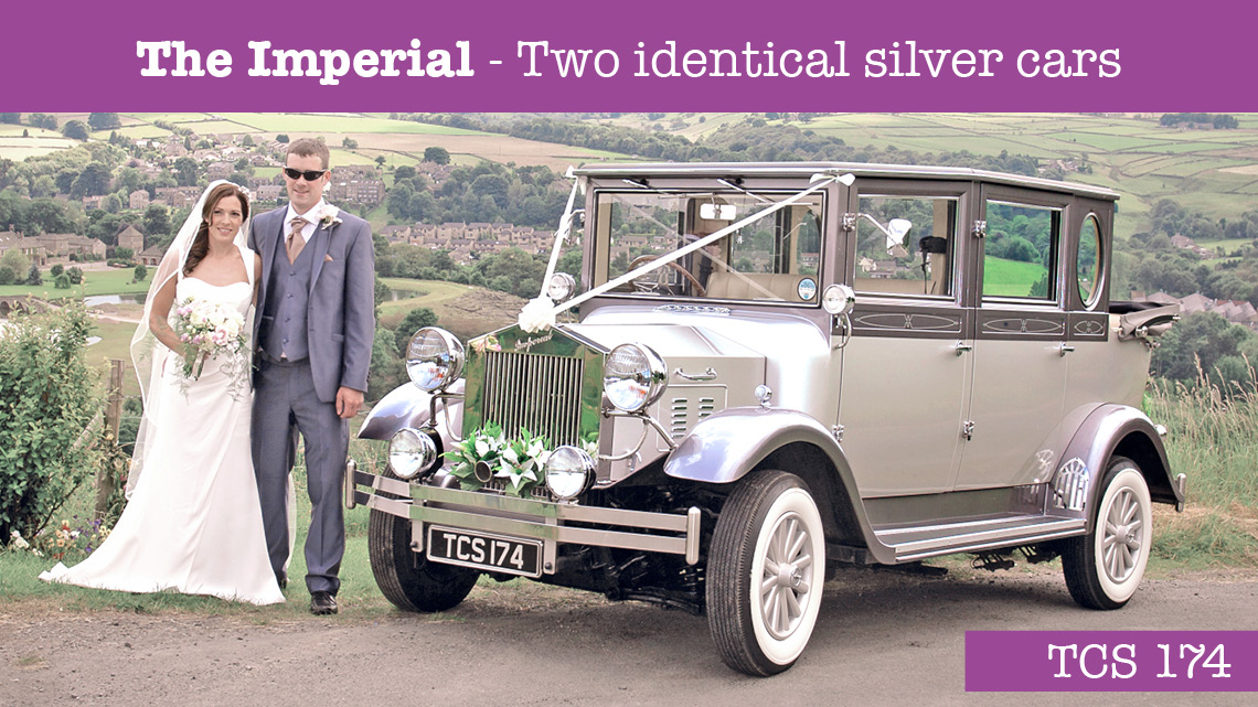 The Imperial Wedding car - wedding cars huddersfield