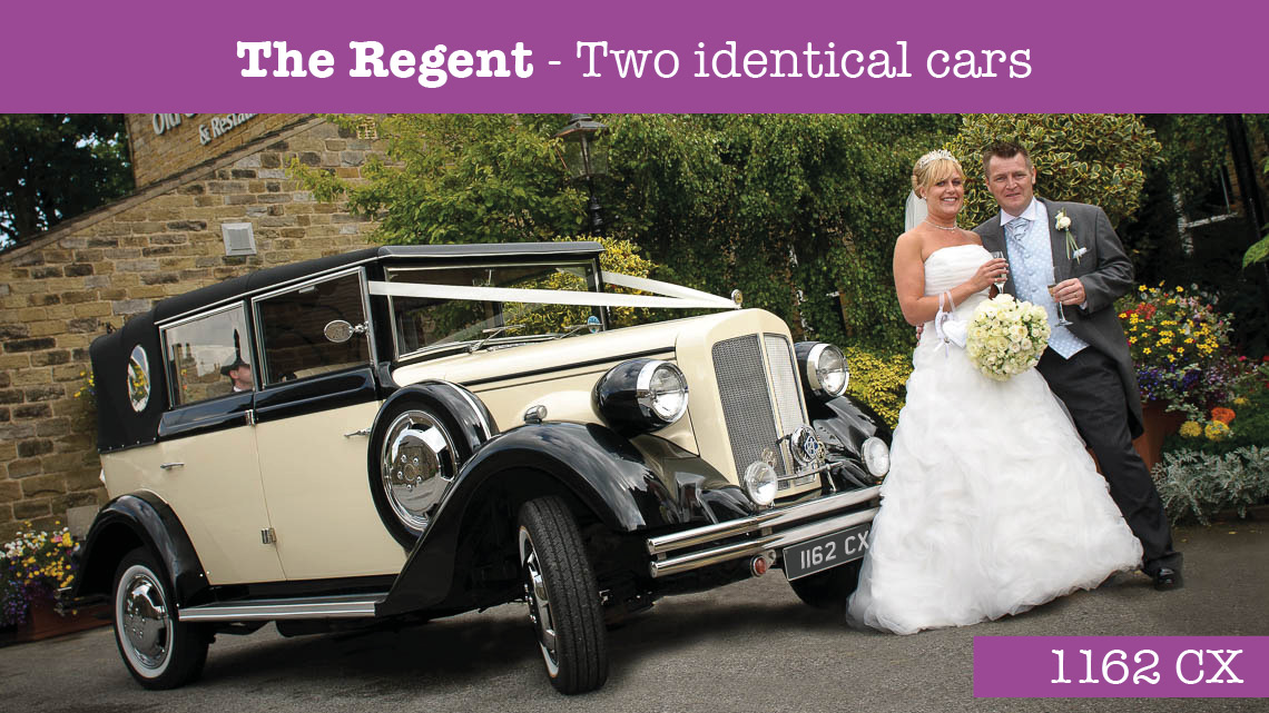 The regent Wedding car - wedding cars huddersfield