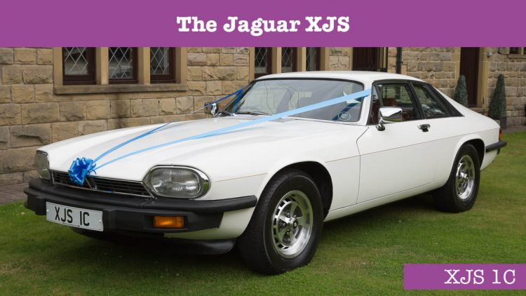 Jaguar XJS Wedding car - wedding cars huddersfield - Grooms car