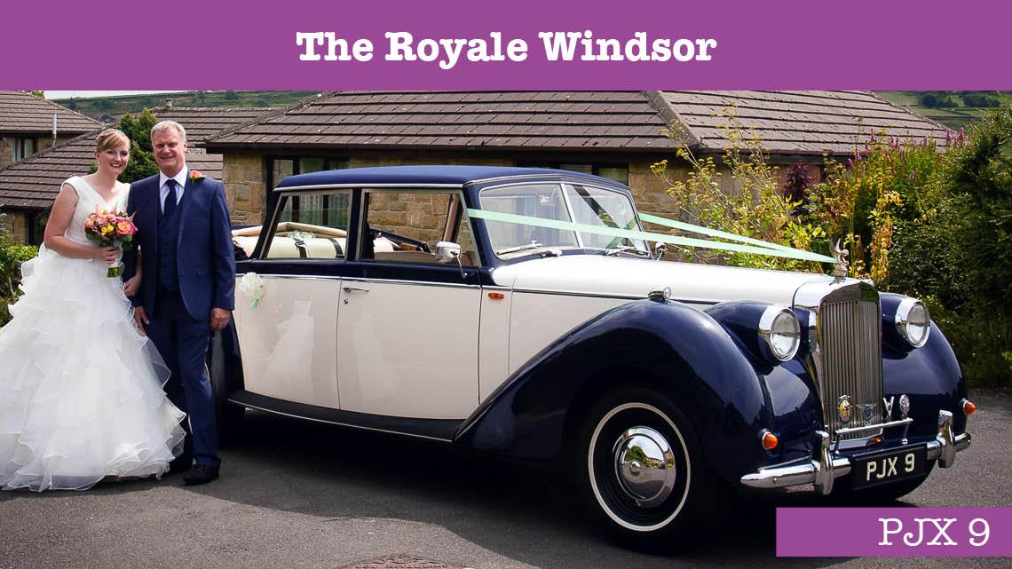 Royale Windsor Wedding car - wedding cars huddersfield