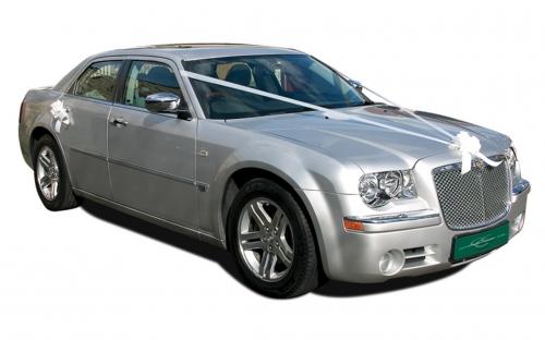 Chrysler 300C - wedding car hire halifax