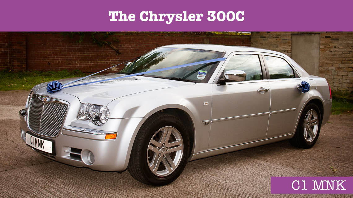Chrysler 300C Wedding car - wedding cars huddersfield - Grooms car