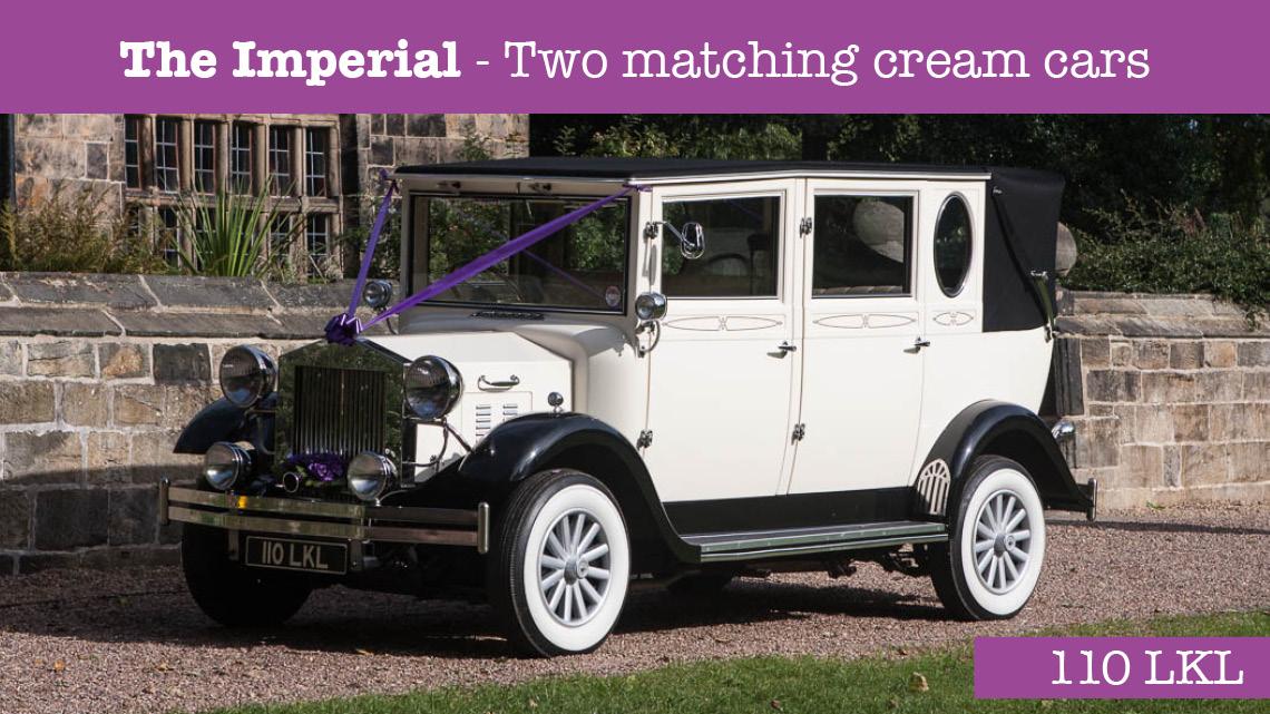 The Imperial Wedding car - wedding cars huddersfield