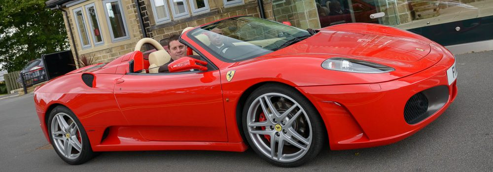 Wedding cars Huddersfield Ferrari