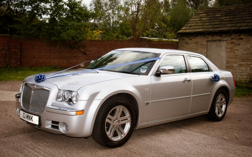 Chrysler 300C - wedding car hire yorkshire