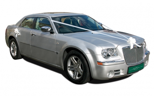 Chrysler 300C - wedding car hire halifax